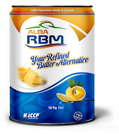 Alba RBM is an AMF replacer that gives food the taste
